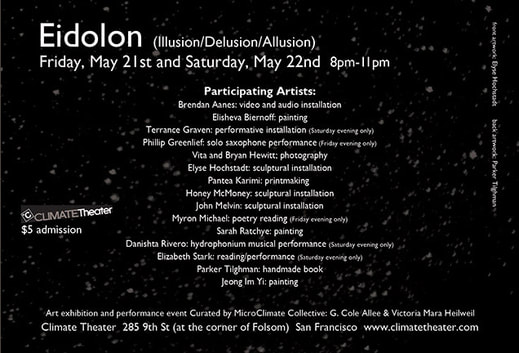 Eidolon (Illusion/Delusion/Allusion) Flyer